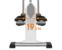 Эллиптичеcкий тренажер APPLEGATE E20 M