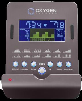 Эллиптический эргометр Oxygen GX-65FD HRC+ (2017)