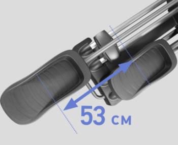 Эллиптический тренажер SVENSSON INDUSTRIAL HIT X850 LX