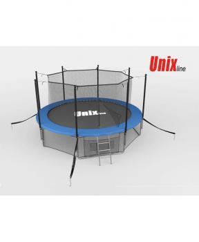 Батут UNIX line 10 ft inside (blue)