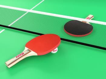 Всепогодный теннисный стол UNIX line (green)