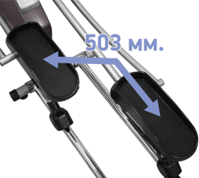 Эллиптический эргометр Oxygen GX-65FD HRC+