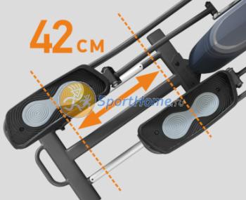 Эллиптический тренажер APPLEGATE X23 M