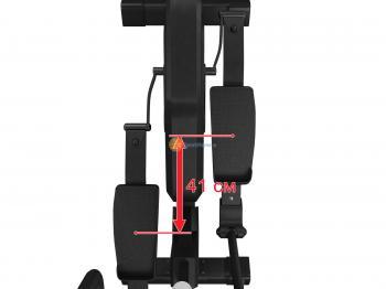 Эллиптический тренажер UNIXFIT SL-400X Black