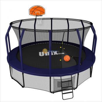 Баскетбольный щит UNIX line для батута SUPREME