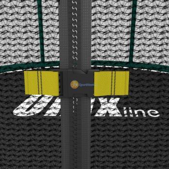 Батут UNIX line SUPREME GAME 14 ft (green)
