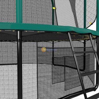 Батут UNIXline SUPREME GAME 8 ft (green)