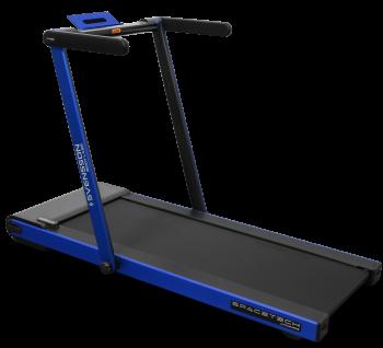 Компактная беговая дорожка Svensson Body Labs SPACETECH (синяя)