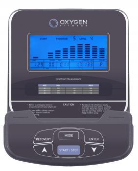 Эллиптический тренажер Oxygen EX-54 HRC