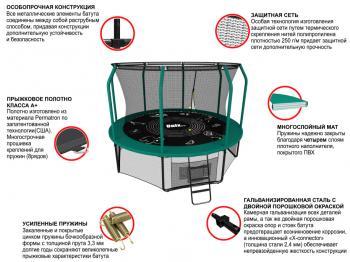 Батут UNIX line SUPREME GAME 10 ft + Basketball