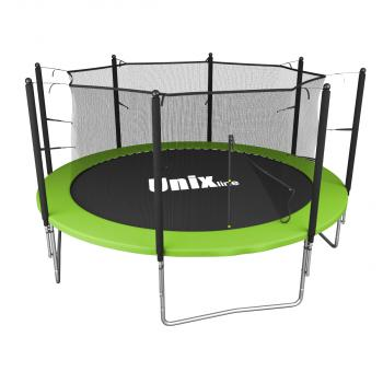 Батут UNIX line Simple 12 ft Green (inside)