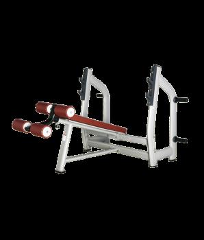 BRONZE GYM H-024 Скамья для жима с отрицательным наклоном