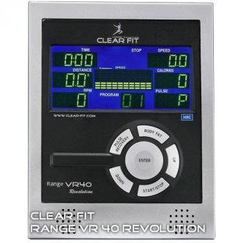 Эллиптический тренажер (эргометр) Clear Fit Range VR 40 Revolution