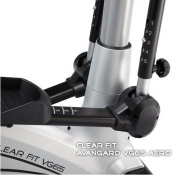 Эллиптический тренажер эргометр Clear Fit Avangard VG65 Aero