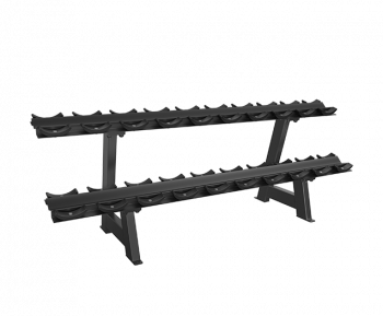 SVENSSON INDUSTRIAL E3077 Matte Black Стойка для гантелей (10 пар)