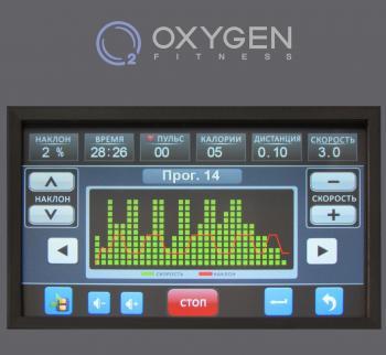 Беговая дорожка Oxygen Plasma III LC TFT HRС