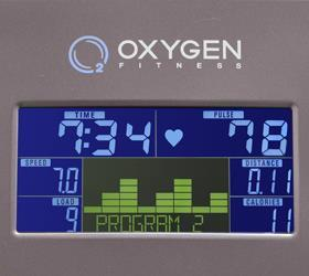 Эллиптический эргометр Oxygen GX-65 HRC