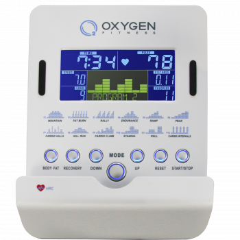 Велоэргометр Oxygen Cardio Concept IV HRC+ White Light